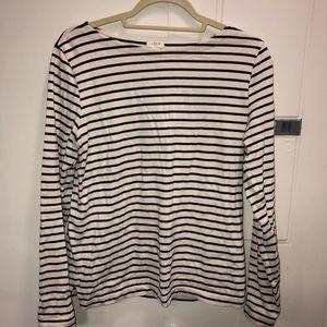 J crew factory striped shirt